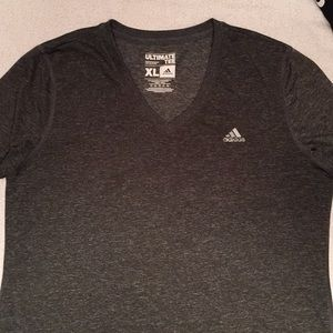 Adidas training tee color gray size XL